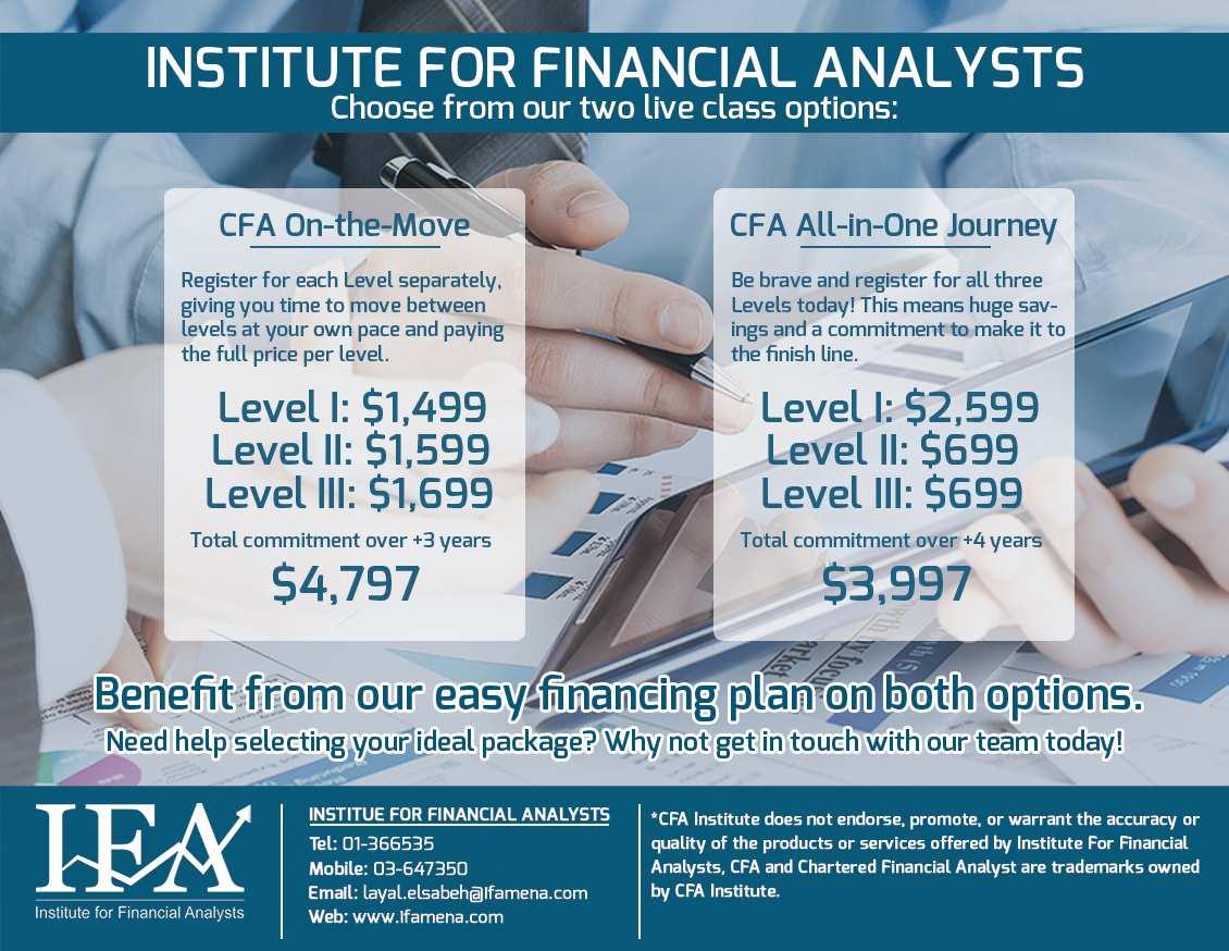 Chartered Financial Analyst Certification Cfa In Kuwait Mandegarfo