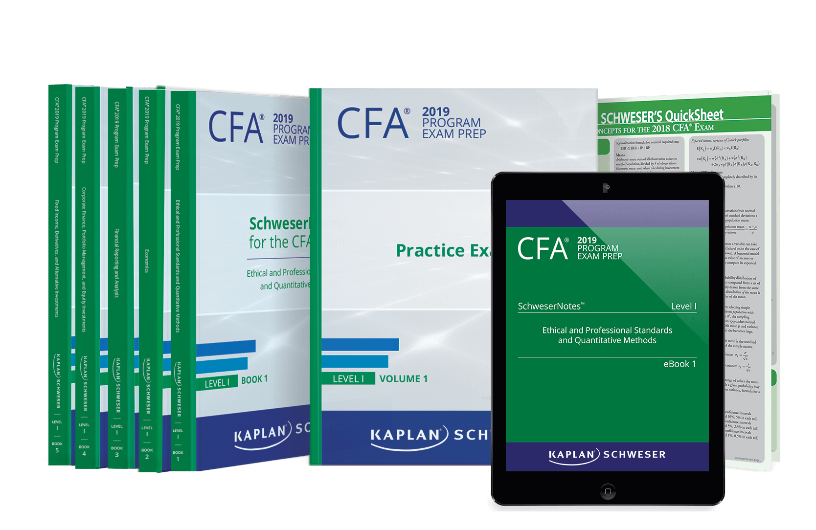 Schweser CFA Notes Package